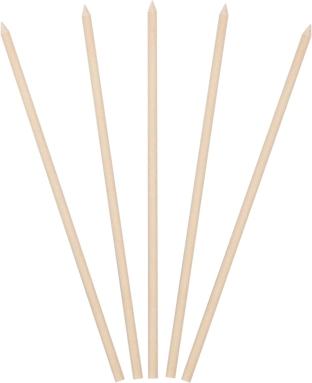 KingSeal Natural Birch Wood Meat Sticks, Kebab Skewers - 5.5 Inches, 3.5mm Diameter, 1000 Count