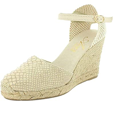 24e48365a2f2 Azura Women s Lenox Beige Sandals 37 M EU