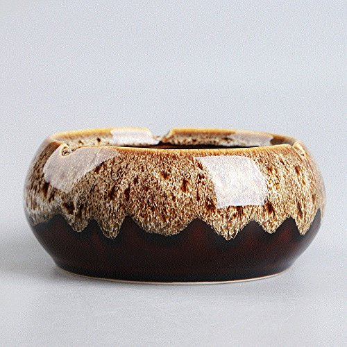 Znzbzt ashtray ceramic creative personality trend all-glass for sale  Delivered anywhere in USA