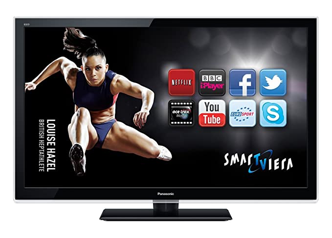 a1fa03f74 Panasonic TX-L37E5B 37-inch Widescreen Full HD 1080p LED TV with Freeview  HD - Black (discontinued by manufacturer): Amazon.co.uk: TV