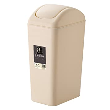 Amazoncom Topgalaxyz Mini Waste Can 8 Liter2 Gallon Plastic