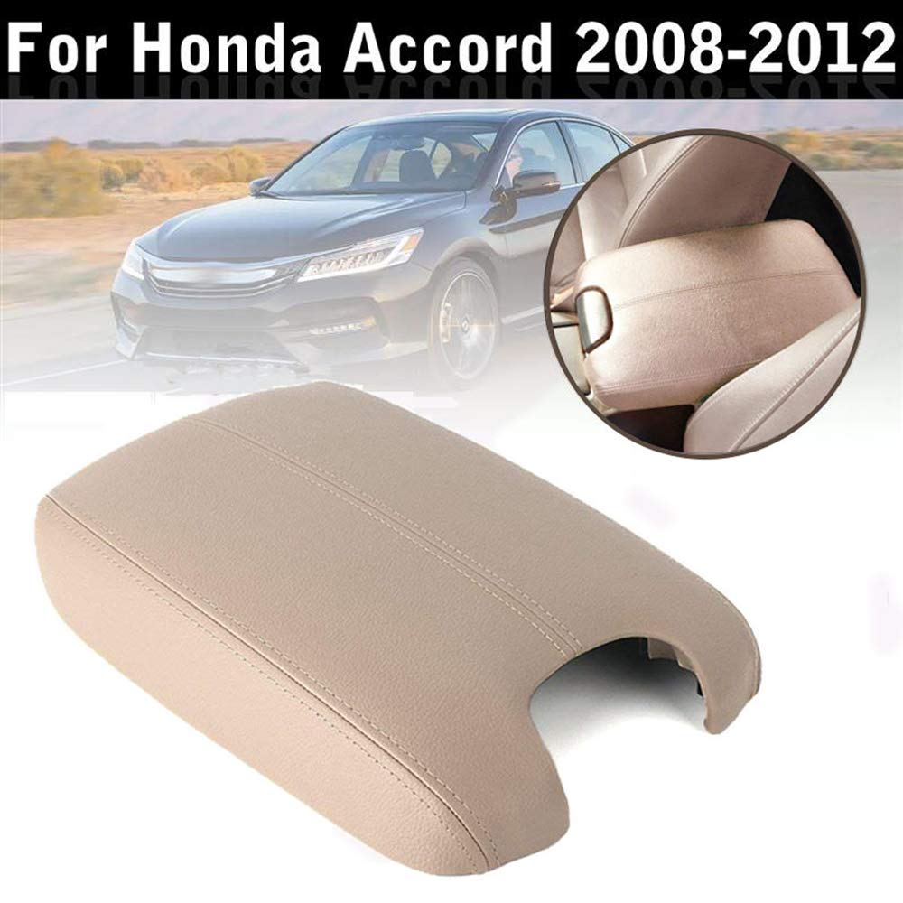 Issyzone Center Console Cover Lid for Honda Accord 2008 2009 2010 2011 2012 Armrest Cover Protector