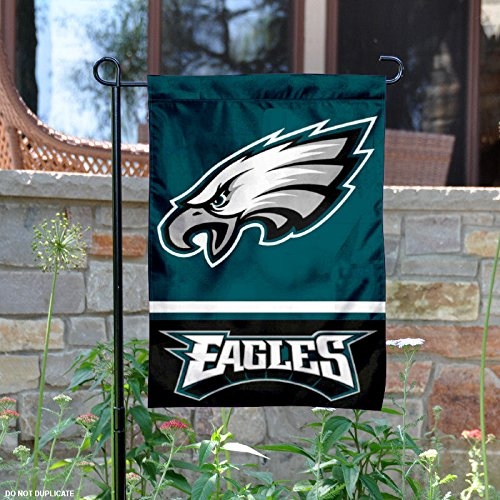 WinCraft Philadelphia Eagles Double Sided Garden (Nfl Wall Border)