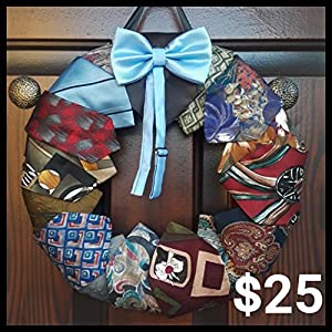 Father's Day Necktie Wreath 99