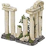 Nobby Antiguo columna con plantas acuario adornos, 12,5 x 7,7 x