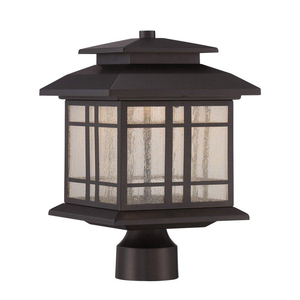 Designers Fountain LED33436-ORB Piedmont 8'' LED Post Lantern