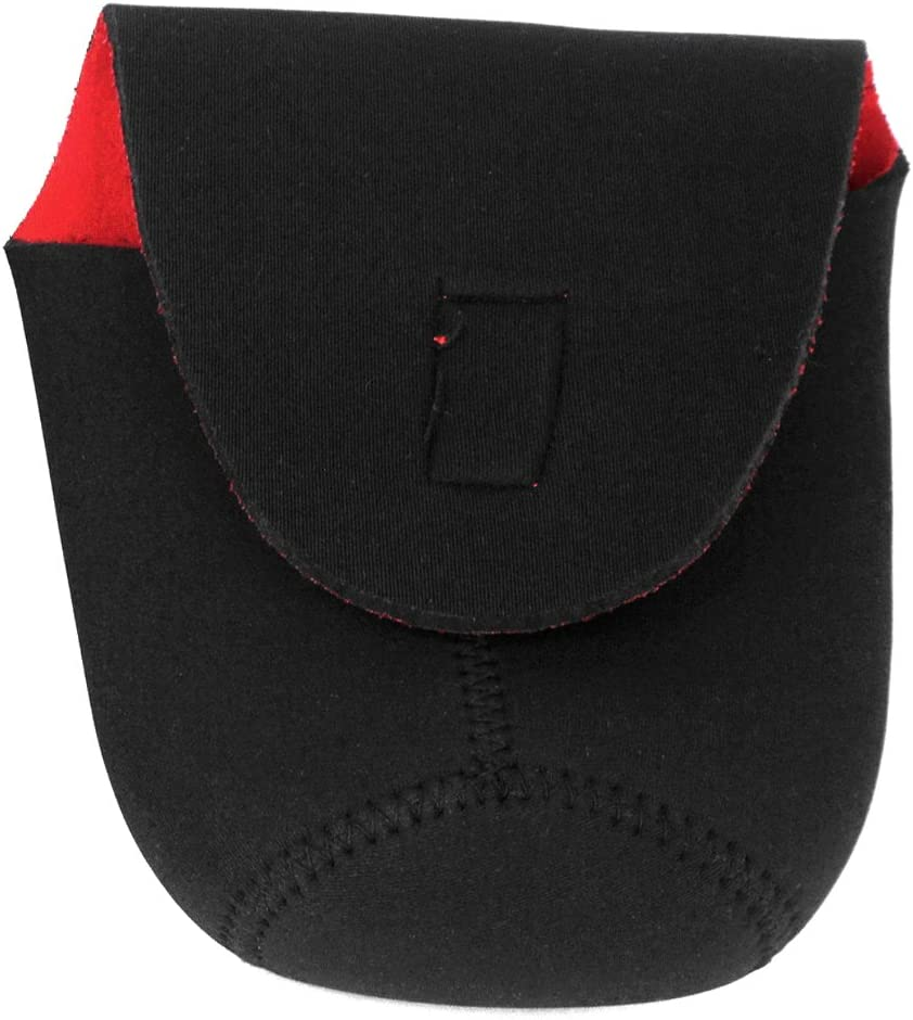 FoRapid Universal Red//Black Soft Neoprene Waterproof DSLR Camera Lens Bag Lens Case Lens Cover Bag Pouch Sleeve Protector Coat for Canon Nikon Sony Olympus Pentax Panasonic XL