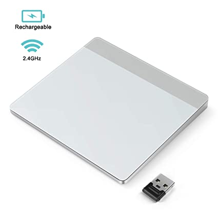Wireless Trackpad, Jelly Comb 2 4GHz Rechargeable Touchpad with Nano  Receiver for Windows 7 and Windows 10 Computer, Notebook, PC, Laptop