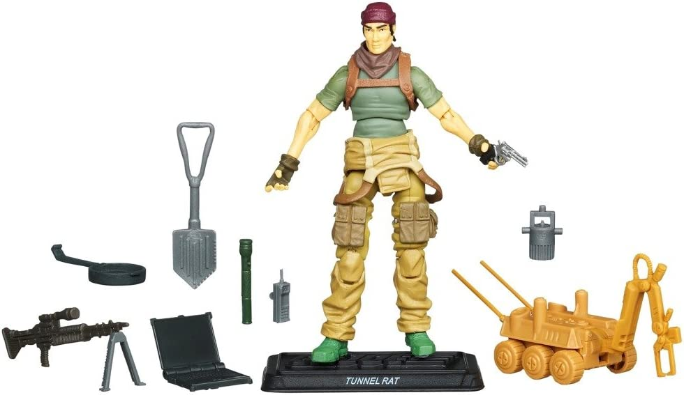 G.I Joe 30th Anniversary 3 3//4 Inch Action Figure Tunnel Rat Renegades Hasbro Toys 653569657224