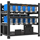 AAAwave 12GPU Open Frame Mining Rig Frame Chassis for Cryptocurrency ETH Zcoin