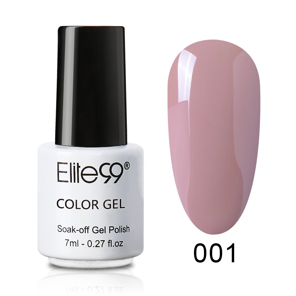Nagellack UV farbgel für Gelnägel Mini-Größe 7ml – Farbe: Nude001