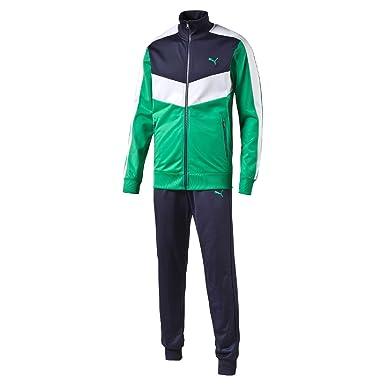Puma Fun CB Tricot Suit cl - Chándal, Chicle, Marinero, Blanco ...