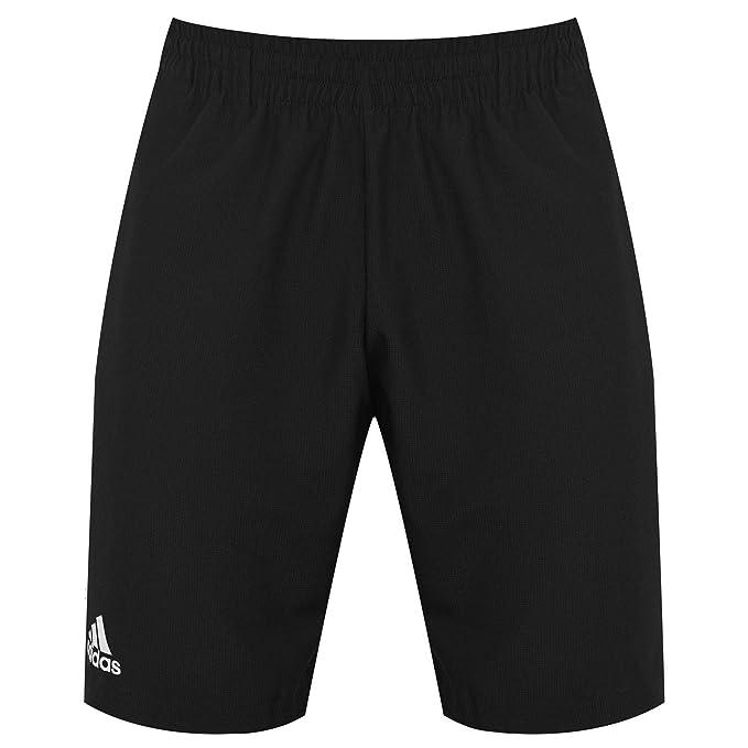 adidas Herren Club 9 Shorts, BlackWhite S: Sport & Freizeit