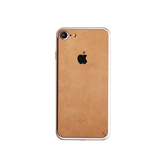 best website e69a7 eba17 Dpark Luxury Genuine Leather Full Back Skin Film Sticker Decal Durable  Protector for Apple iPhone 7/iPhone 7 Plus (No pattern for iPhone 7)