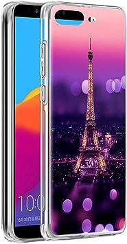 Yoedge Funda Huawei Y6 2018, Ultra Slim Cárcasa Silicona ...