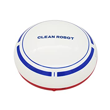 BestDealGift Auto Dust Cleaner Robot, Robotic Clean Helper Sweep Robot White