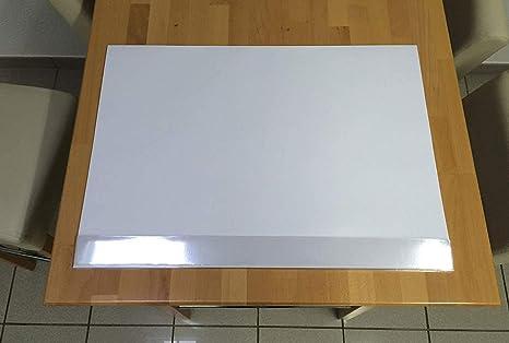 Blanko Schreibtischunterlage mit Kantenschutz I DIN A2 I 40 Blatt I aus Papier zum Abreißen I zum Beschreiben und Bemalen I d