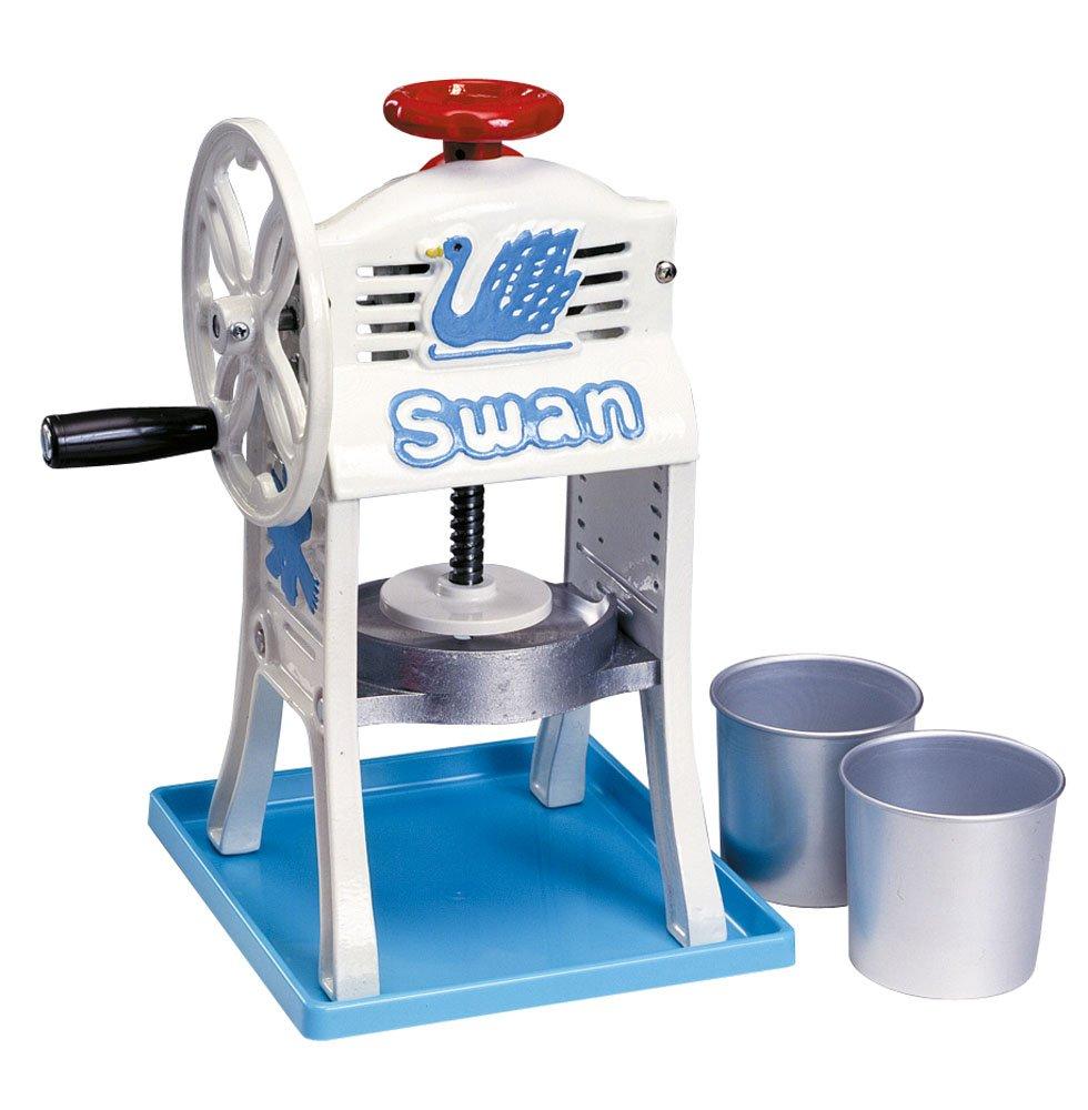池永鉄工 スワン ミニ手動式氷削機 小さな南極 鋳鉄/氷盤:アルミ 日本 FAIE301 B000TIISL6