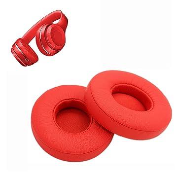 Almohadillas de Repuesto para Auriculares Beats Studio 2.0/3.0 de Espuma viscoelástica, Almohadillas para