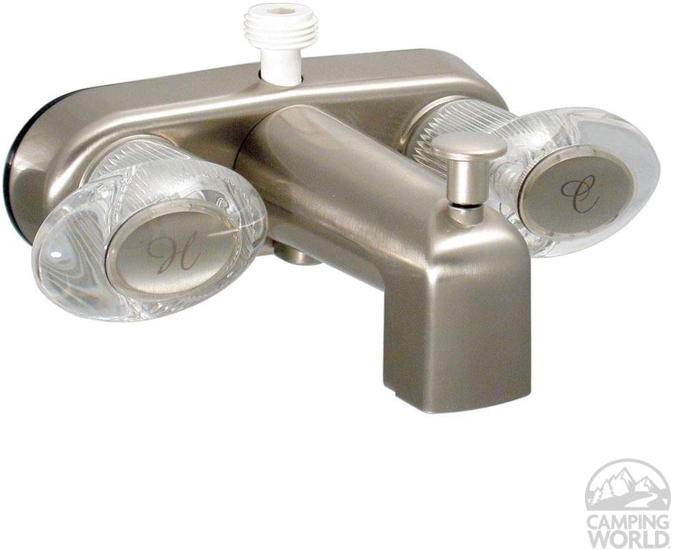 White Valterra Phoenix Faucets by PF223261 Catalina Two-Handle 4 Tub//Shower Faucet