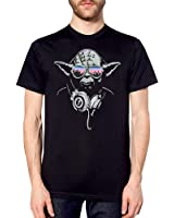 Inspired Darth VADER Yoda DJ EVOLUTION T SHIRT