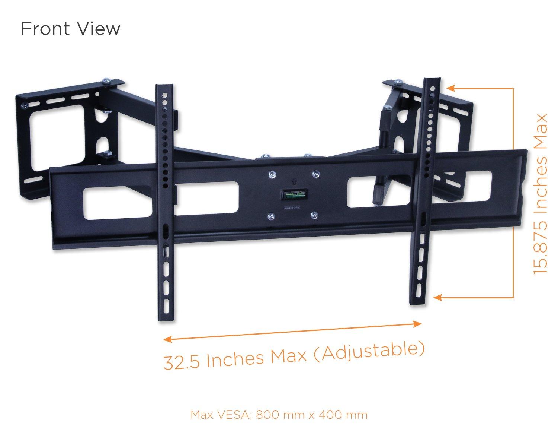 amazon com mount it mi 484c articulating corner mount for tv