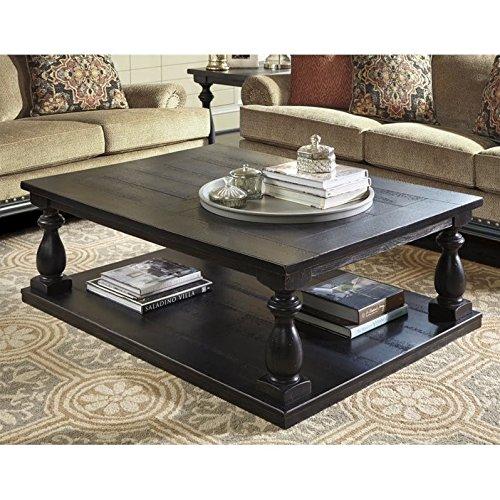 Ashley Furniture Signature Design Mallacar Coffee Table Cocktail - Ashley furniture marble coffee table