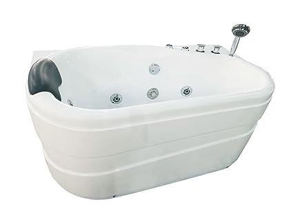 Vasca Da Bagno Ad Angolo : Eago am r scarico whirlpool vasca da bagno ad angolo in