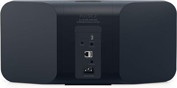 Bluesound Pulse 2 Schwarz Wireless Multi Room Smart Lautsprecher Mit Bluetooth Schwarz Audio Hifi