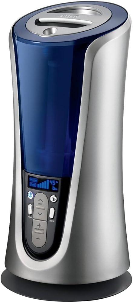 HoMedics UHEWM85 Warm and Cool Mist Ultrasonic Humidifier
