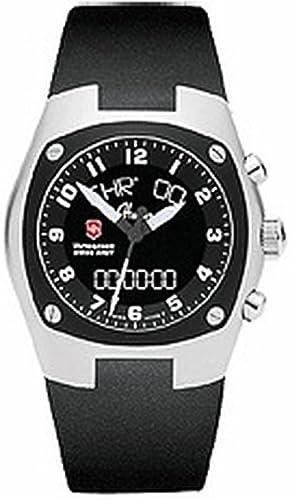 Victorinox Hunter Reloj para Hombre Analógico/Digital de Cuarzo Suizo con Brazalete de Goma V25479: Amazon.es: Relojes