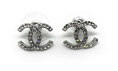 grande vendita ee98e 167ff CHANEL orecchini con cristalli: Amazon.it: Gioielli