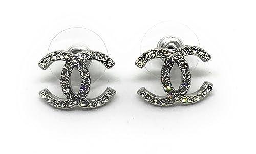 grande vendita 7910d d8edc CHANEL orecchini con cristalli: Amazon.it: Gioielli