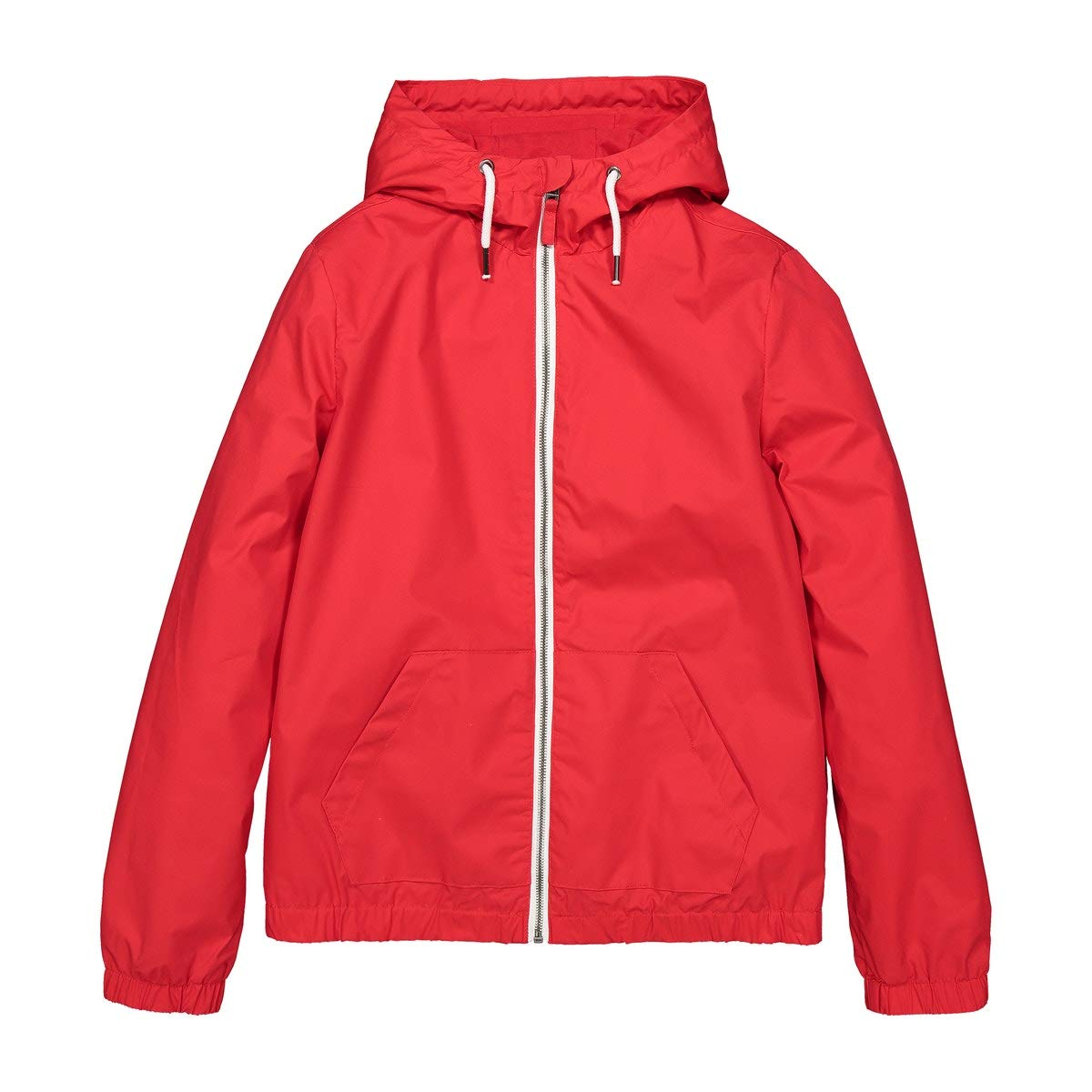 La Redoute Collections Waterproof Hooded Jacket, 10-16 Years Red Size 10 Years (138 cm)