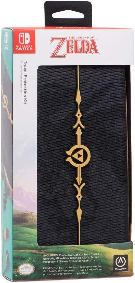 PowerA - Kit / estuche de protección Legend of Zelda (Nintendo Switch): Amazon.es: Videojuegos