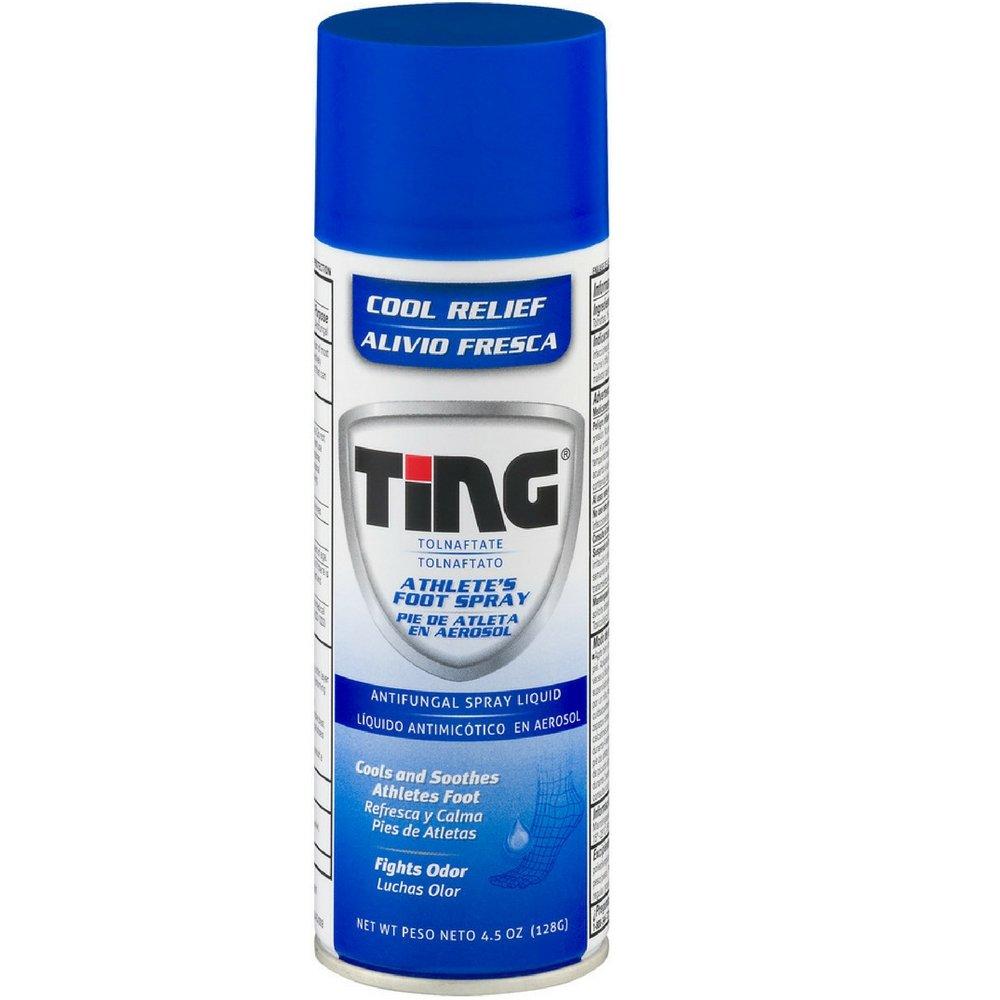 Ting Antifungal Spray Liquid 4.50 oz (Pack of 4)