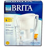 Brita Slim Water Filter Pitcher with 1 Standard Filter, 5 Cup …