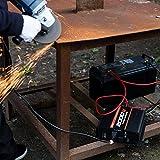 POTEK 2000W Power Inverter Three AC Outlets 12V DC