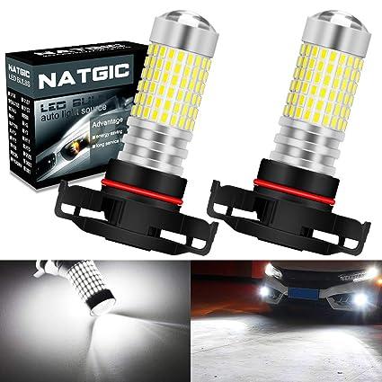 NATGIC H16 5202 Bombillas de luz antiniebla LED Xenon blanco ...