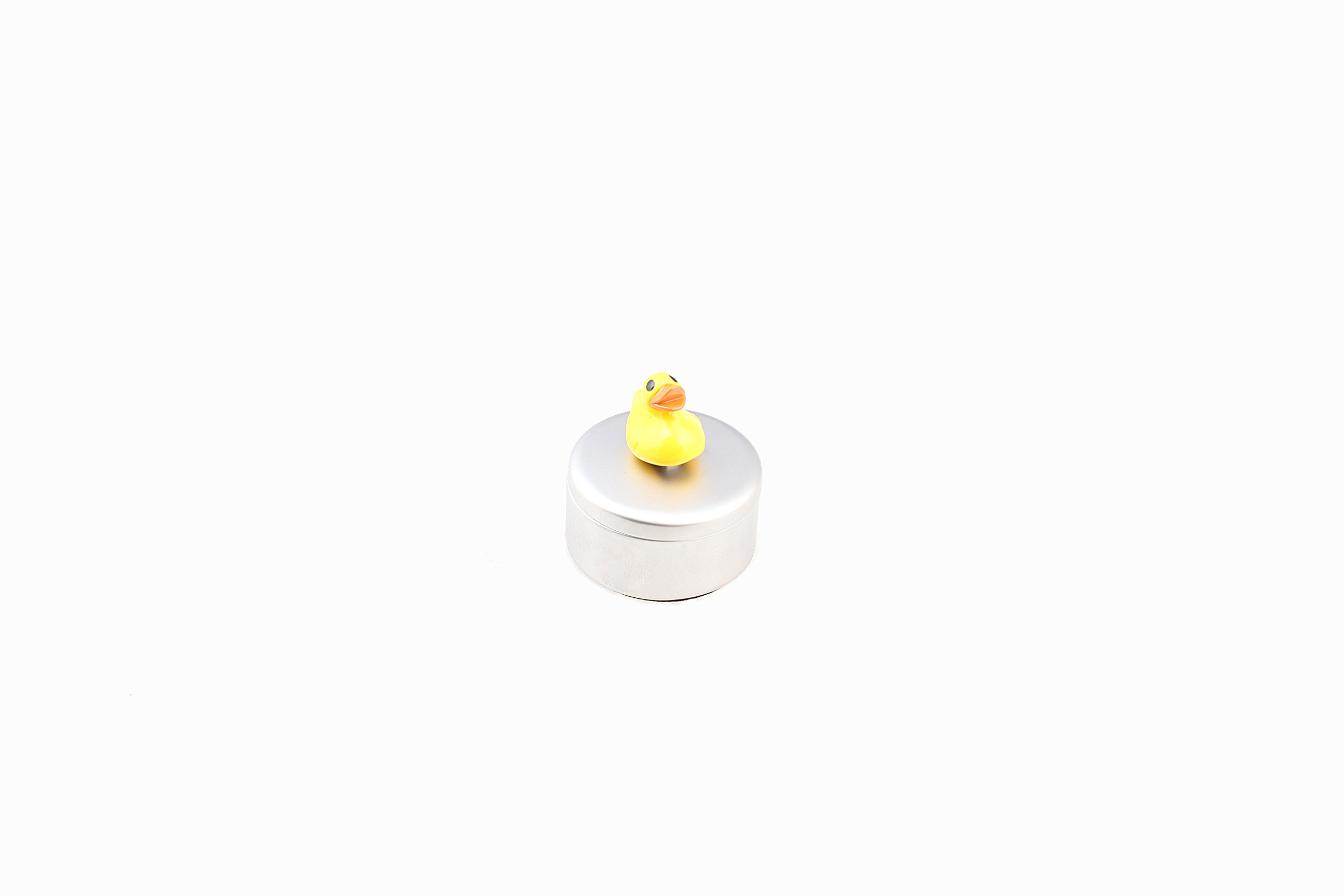 NGNG Tooth Ring Stainless Steel Box Holder Baby Teeth Storage Box - Duck by NGNG (Image #1)