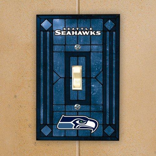 (Seattle Seahawks Art Glass Switch)