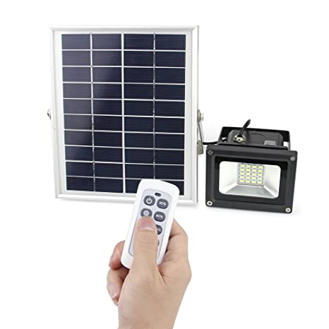 Solar light outdoor remote control solar flood light for night solar light outdoor remote control solar flood light for night lighting of patio garden yard lawn mozeypictures Gallery