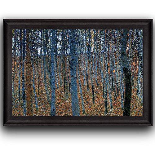 Beech Grove by Gustav Klimt Framed Art