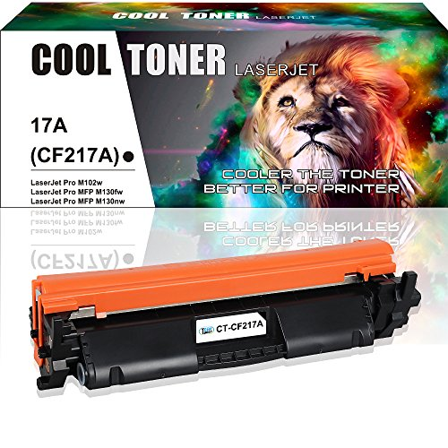 Cool Toner 1PK CF217A ( With Chip ) Compatible for HP 17A CF217A Toner Cartridge Replacement for HP M102w HP Laserjet Pro M102w M102a, HP Laserjet Pro MFP M130fw M130 M130fn M130nw M130a Toner Printer free shipping