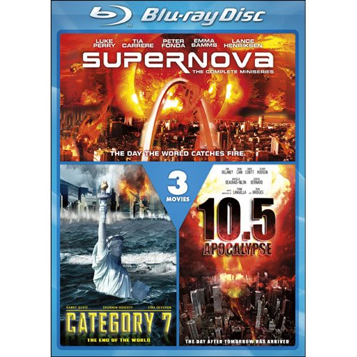Supernova / Category 7: The End of the World / 10.5 Apocalypse [Blu-ray]
