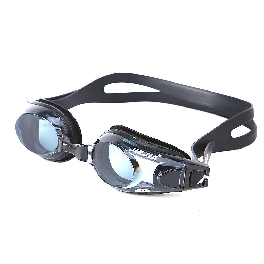 Bkid近視水泳ゴーグル(- 2.0 to - 3.0、曇り止め光学Corrective Swim Goggles withケースforメンズ、レディース、キッズ  -3 B07DWCB4DJ