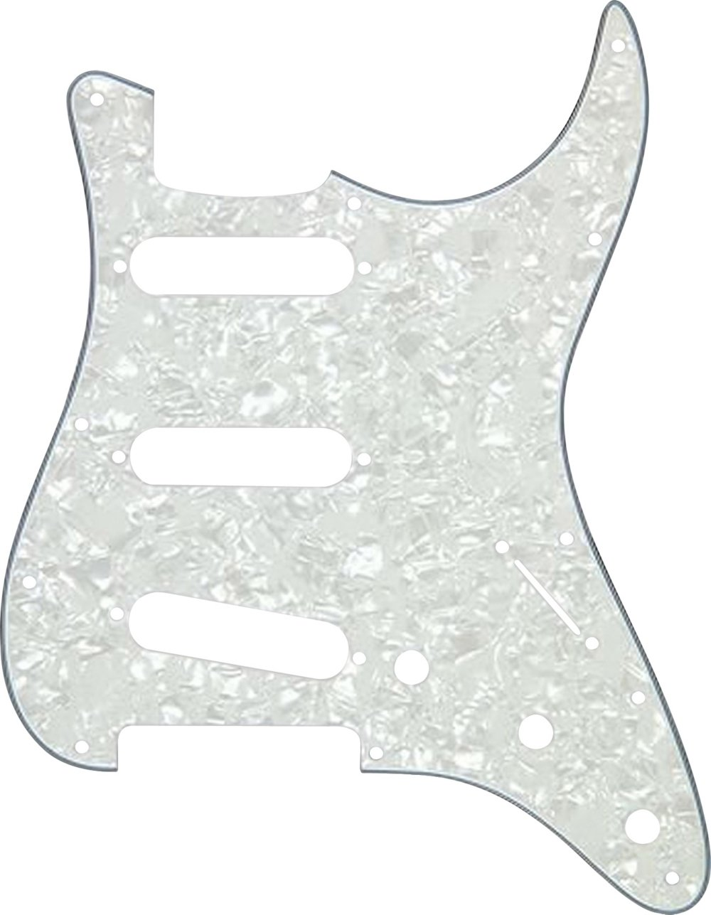 Proline US Strat-Style 2-Ply Pickguard White Pearl