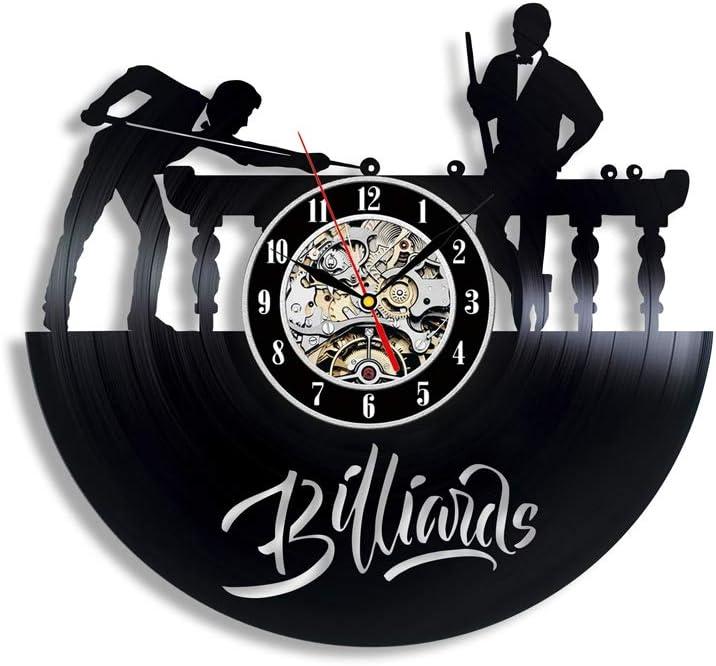 Gullei.com - Reloj de Vinilo, diseño de Jugador de Billar: Amazon ...