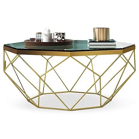 Vaso Transparente Estilo Moderno Mesa de café con Patas de ...