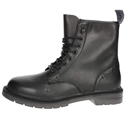 Wrangler Anfibio per Uomo Spike Boot in Ecopelle Nera  Amazon.it  Scarpe e  borse e2b3f6e0374